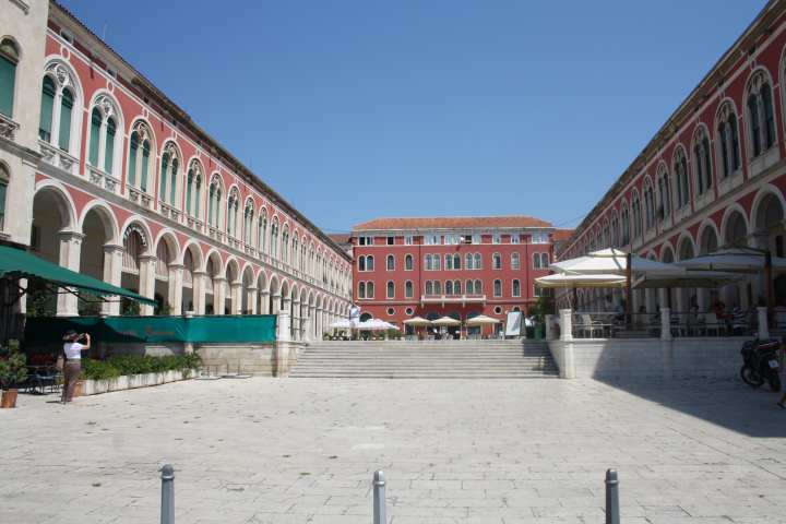 Plaza republica prokurative split